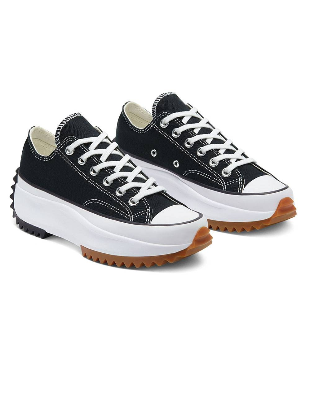 Converse Woman Run Star Hike low - black/white/gum Converse Sneakers 90,16€