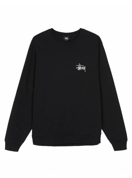 Stussy basic crewneck sweater - black Stussy Sweater 129,00€