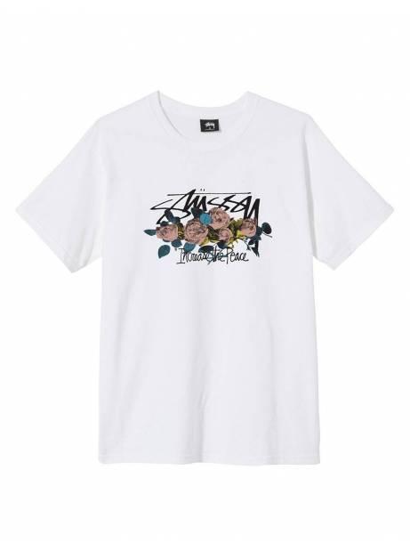 Stussy Itp roses t-shirt - white Stussy T-shirt 55,00€