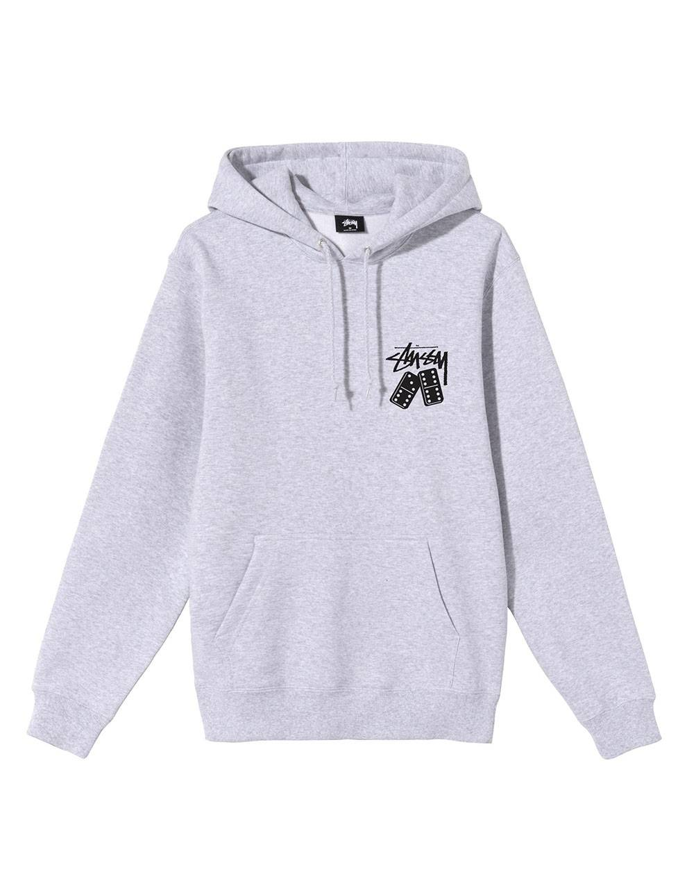Stussy dominoes hoodie - ash heather Stussy Sweater 119,00 €