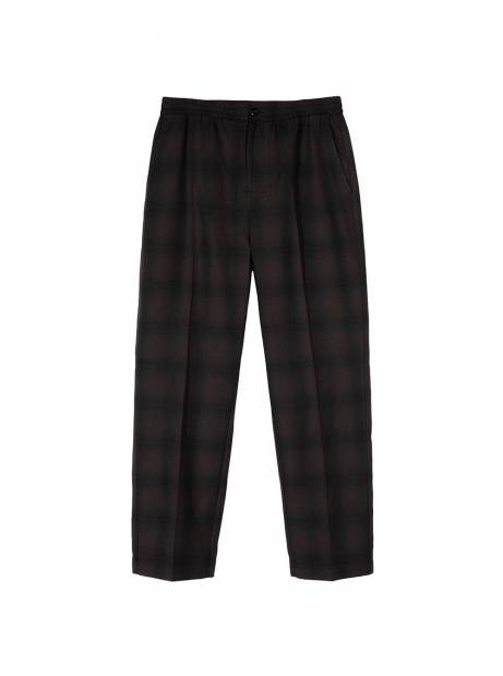 Stussy shadow plaid bryan pants - grey plaid Stussy Pant 159,00 €