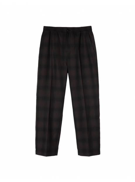 Stussy shadow plaid bryan pants - grey plaid Stussy Pant 122,13€