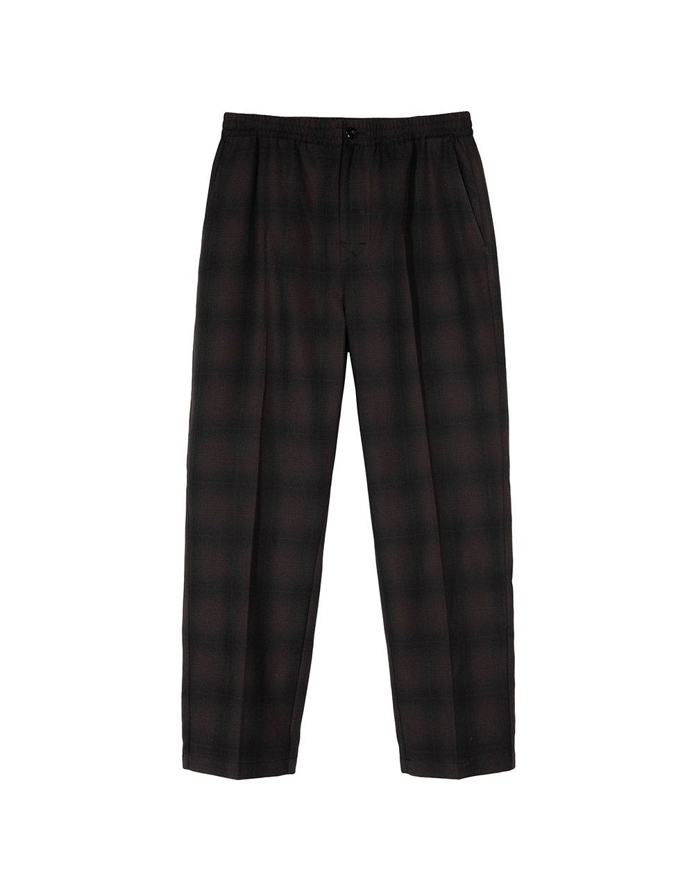 Stussy shadow plaid bryan pants - grey plaid Stussy Pant 122,13 €