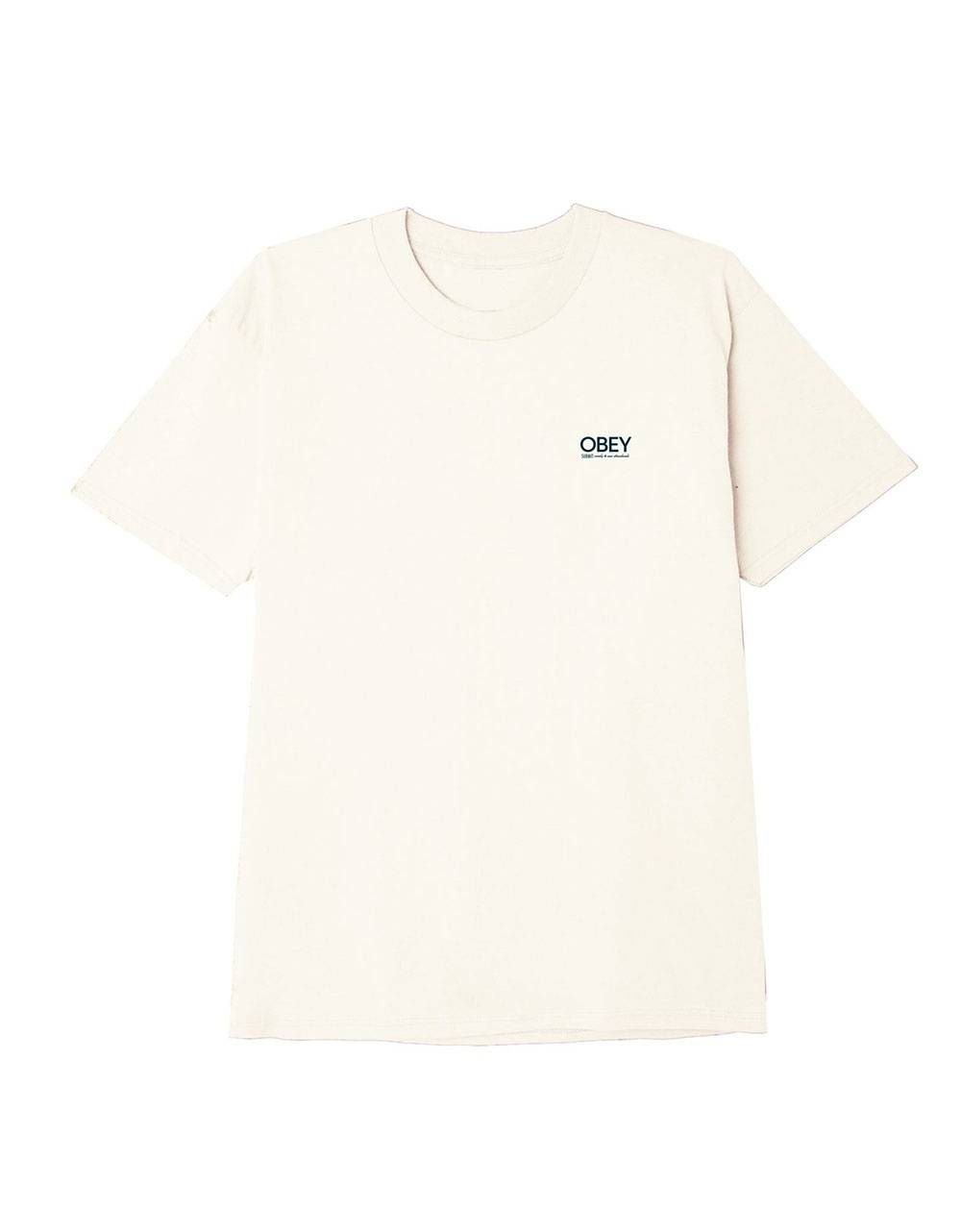 Obey Conformity standards classic tee - cream obey T-shirt 36,89 €