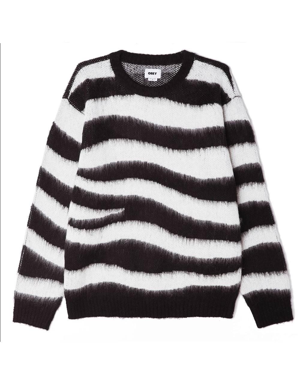 Obey Dream sweater - black multi obey Knitwear 110,00€