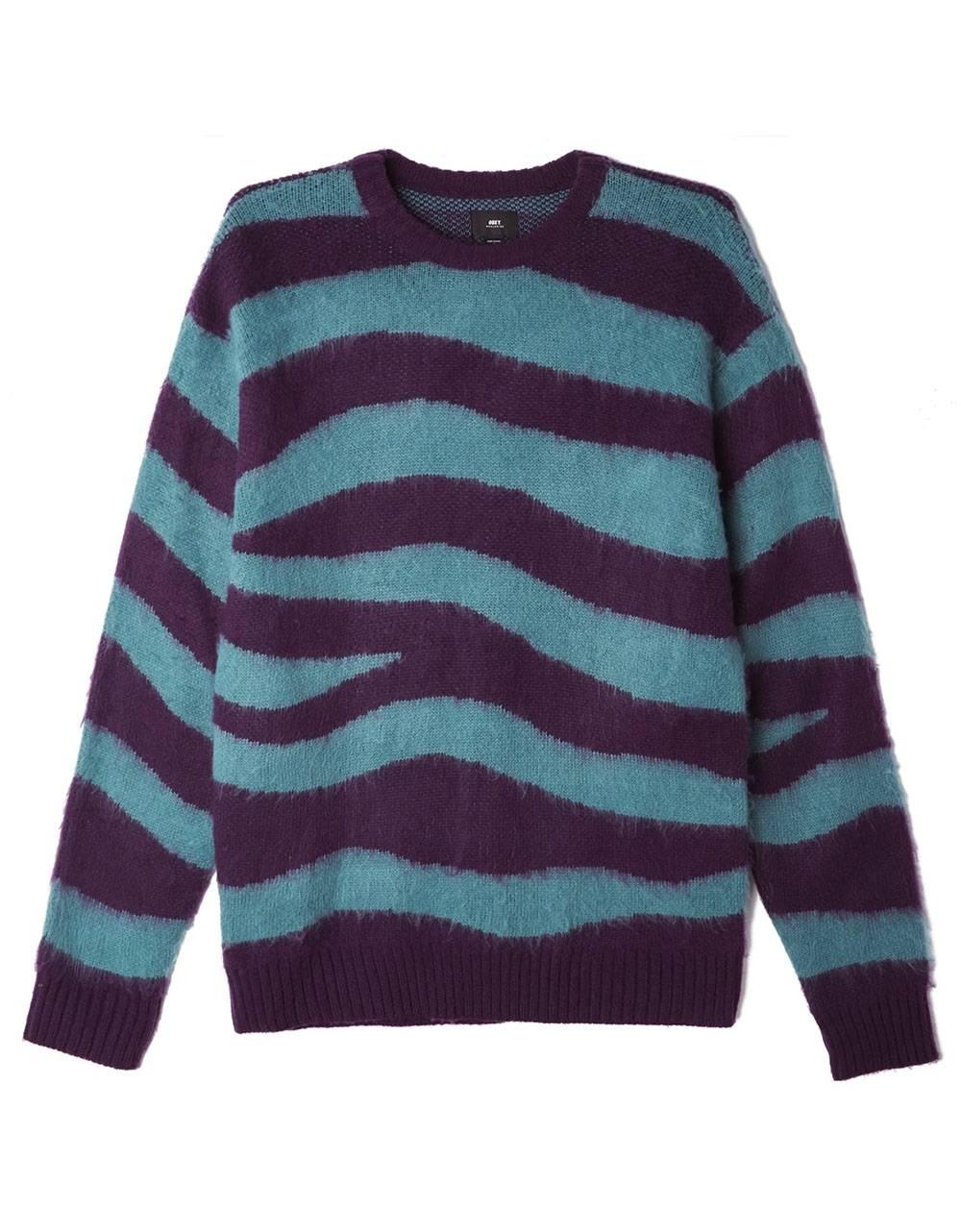 Obey Dream sweater - green multi obey Knitwear 90,16€
