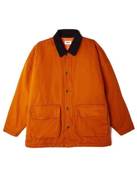 Obey far hunting jacket - pumpkin spice obey Jacket 189,00€