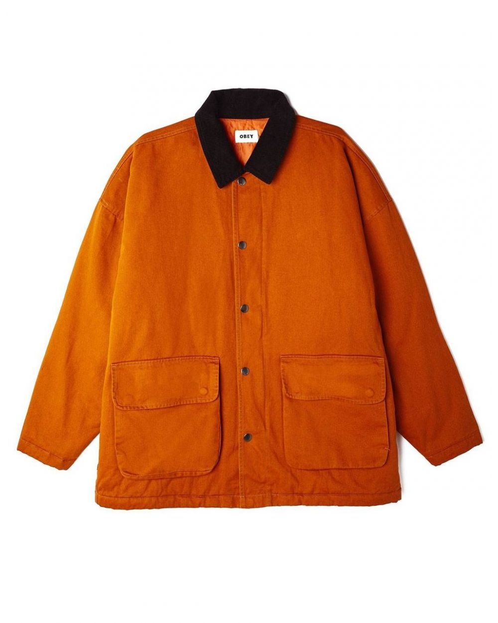 Obey far hunting jacket - pumpkin spice obey Jacket 199,00 €