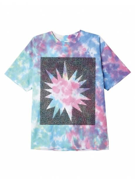 Obey heavy shift organic blotch tie dye tee - pastel blotch obey T-shirt 53,28€