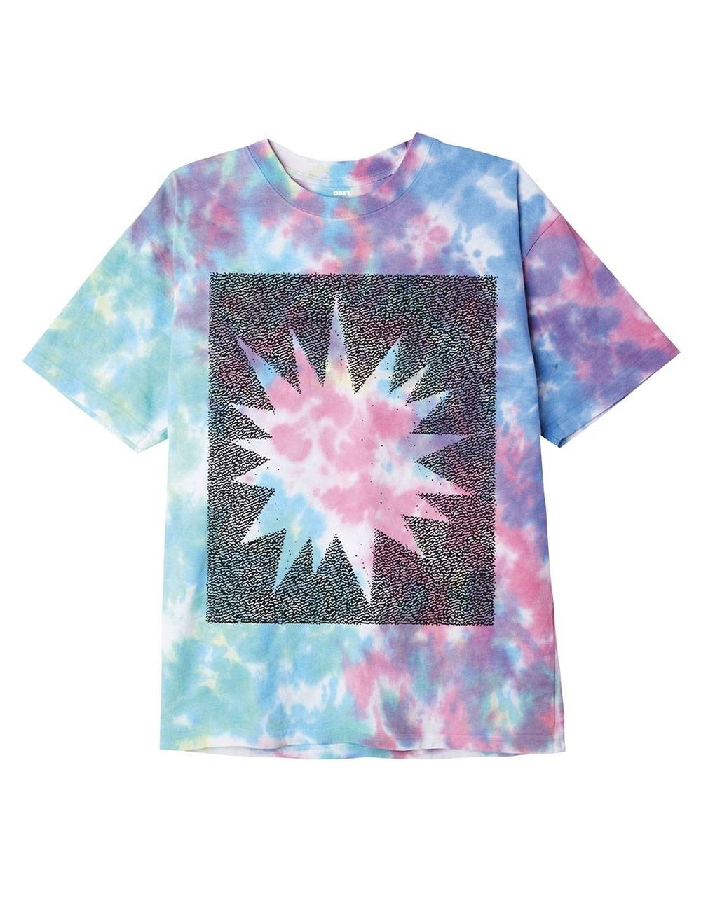 Obey heavy shift organic blotch tie dye tee - pastel blotch obey T-shirt 49,18 €