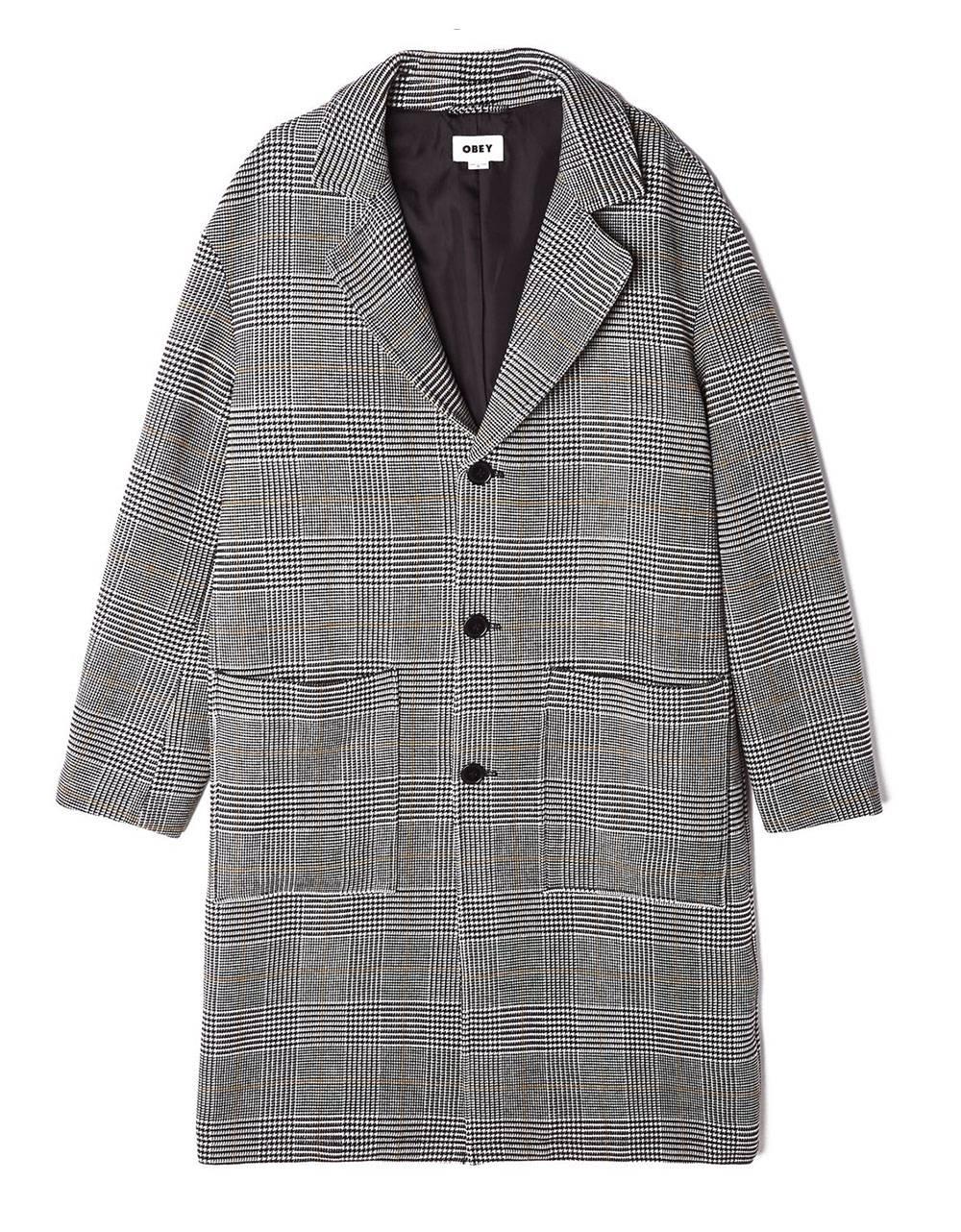 Obey Order driver coat - black multi obey Coat 217,21€