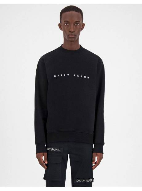 Daily Paper Alias crewneck sweater - Black DAILY PAPER Sweater 106,00 €