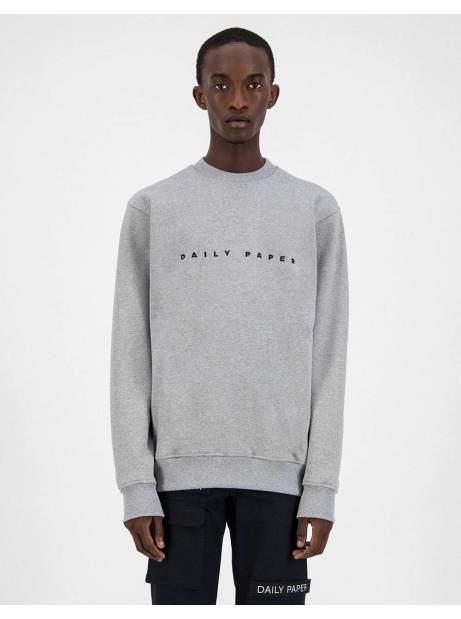 Daily Paper Alias crewneck sweater - Grey/Black DAILY PAPER Sweater 106,00 €