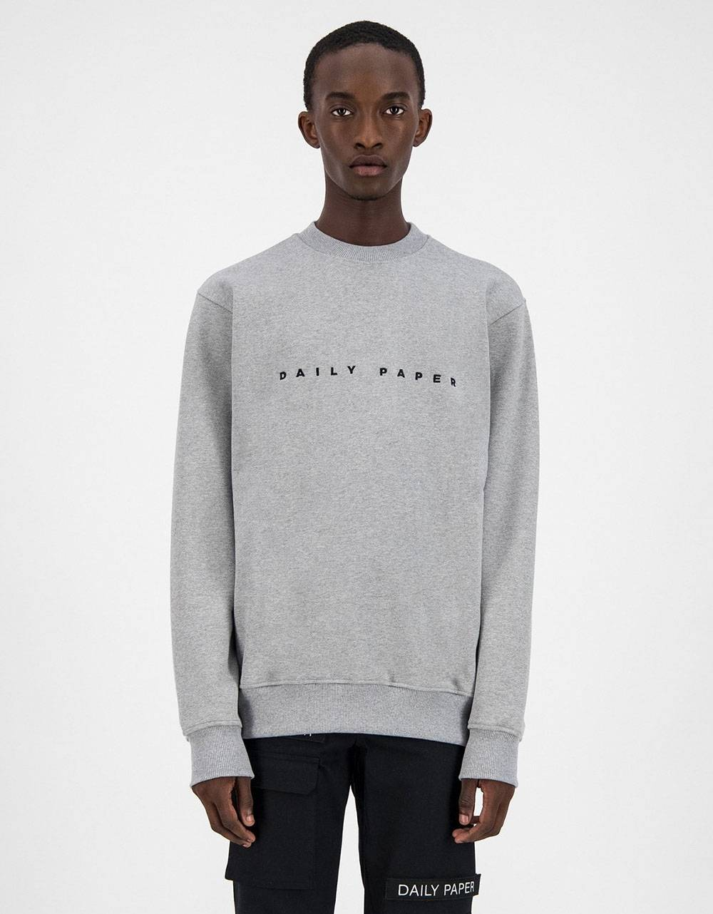Daily Paper Alias crewneck sweater - Grey/Black DAILY PAPER Sweater 81,15 €