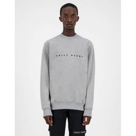 Daily Paper Alias crewneck sweater - Grey/Black DAILY PAPER Sweater 86,89€