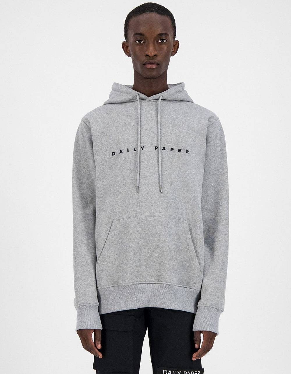 Daily Paper Alias Hoodie - Grey/Black DAILY PAPER Sweater 109,00€
