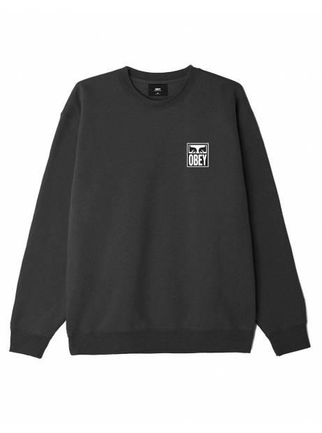 Obey eyes icon II premium crewneck sweater - black obey Sweater 106,00€