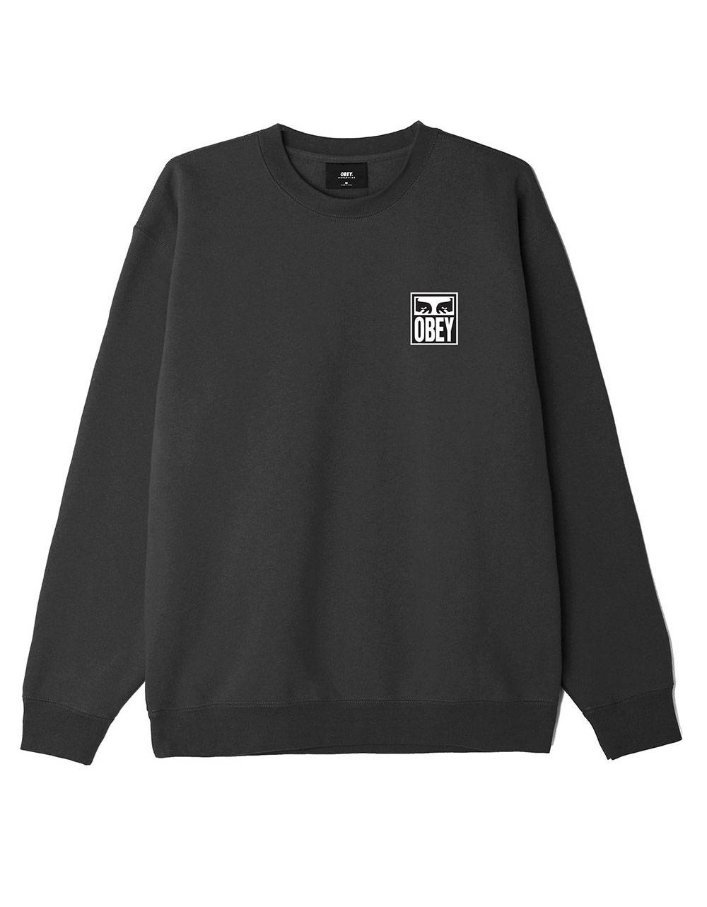 Obey eyes icon II premium crewneck sweater - black obey Sweater 81,15 €