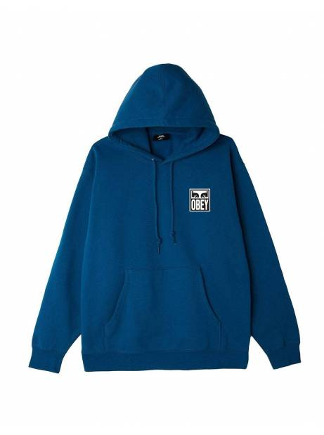Obey eyes icon II premium hoodie - blue sapphire obey Sweater 99,00€