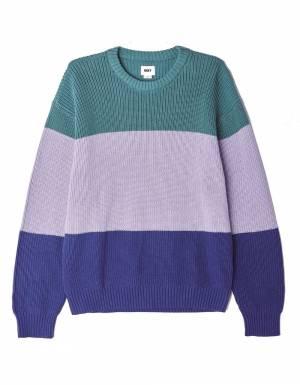 Obey Joni sweater - navy multi obey Knitwear 110,00€