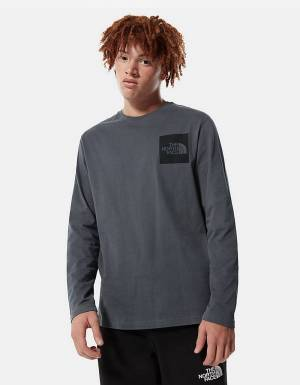 The North Face Fine longsleeve - vanadis grey THE NORTH FACE T-shirt 45,00 €