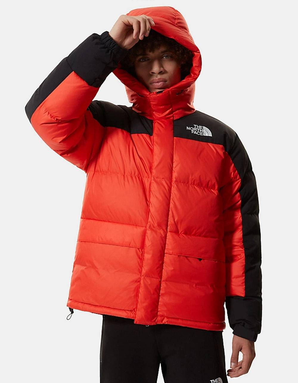 The North Face Himalayan down parka jacket - flare red THE NORTH FACE Bomber 379,00€