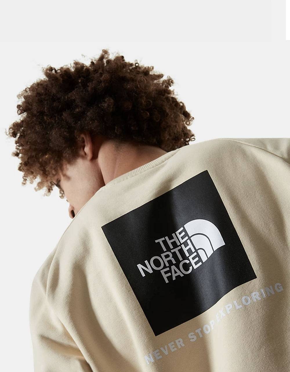 The North Face raglan red box new crewneck sweater - Bleached sand THE NORTH FACE Sweater 75,41 €