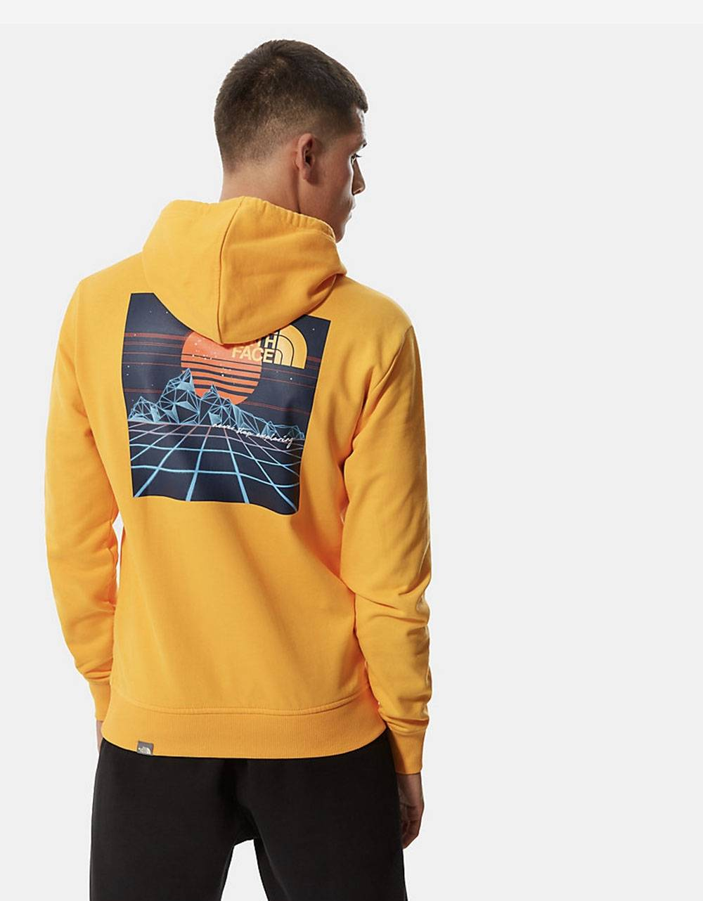The North Face Throwback hoodie - Summit gold THE NORTH FACE Sweater 95,00 €