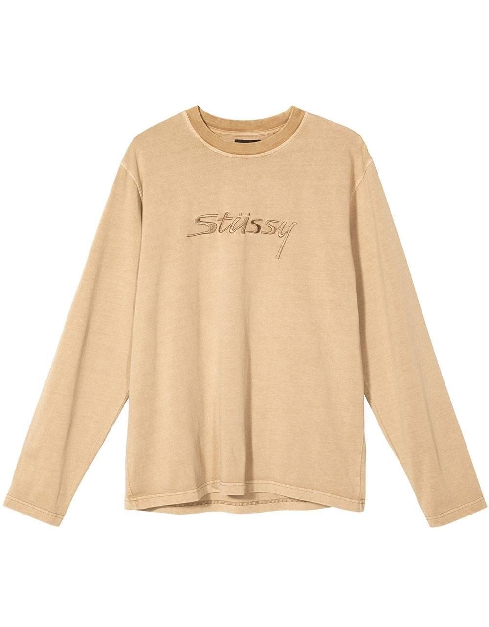 Stussy River longsleeve - khaki Stussy T-shirt 81,15€