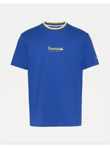 Tommy Jeans Contrast Mountain tee - providence blue Tommy Jeans T-shirt 45,00 €