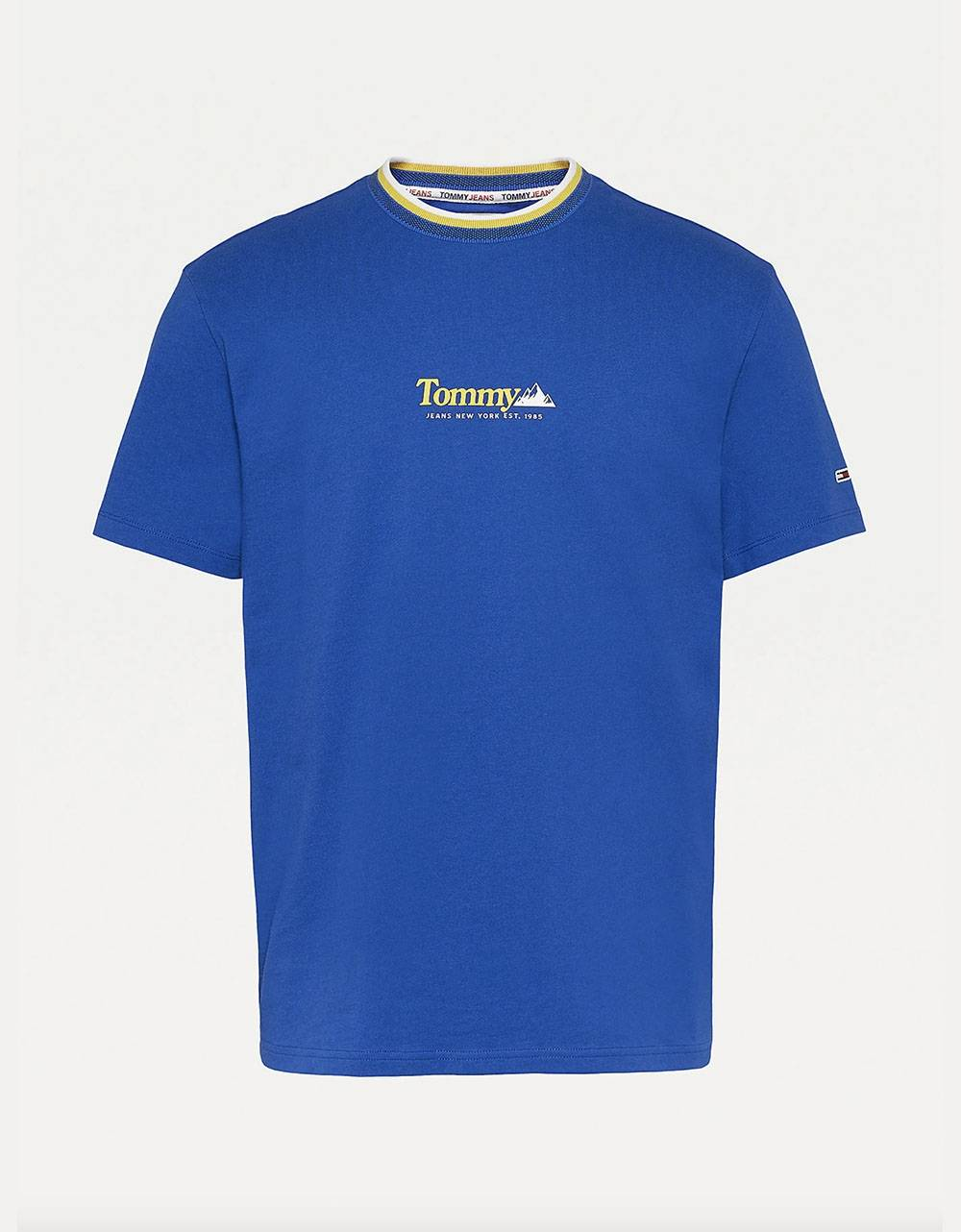 Tommy Jeans Contrast Mountain tee - providence blue Tommy Jeans T-shirt 42,00€