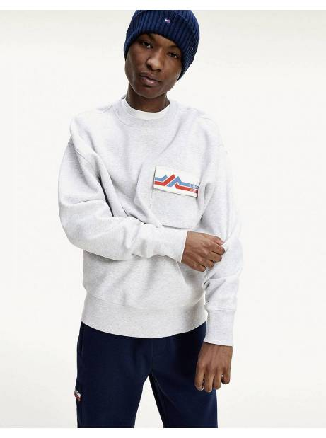 Tommy Jeans Pocket crewneck sweater - silver grey Tommy Jeans Sweater 99,00 €