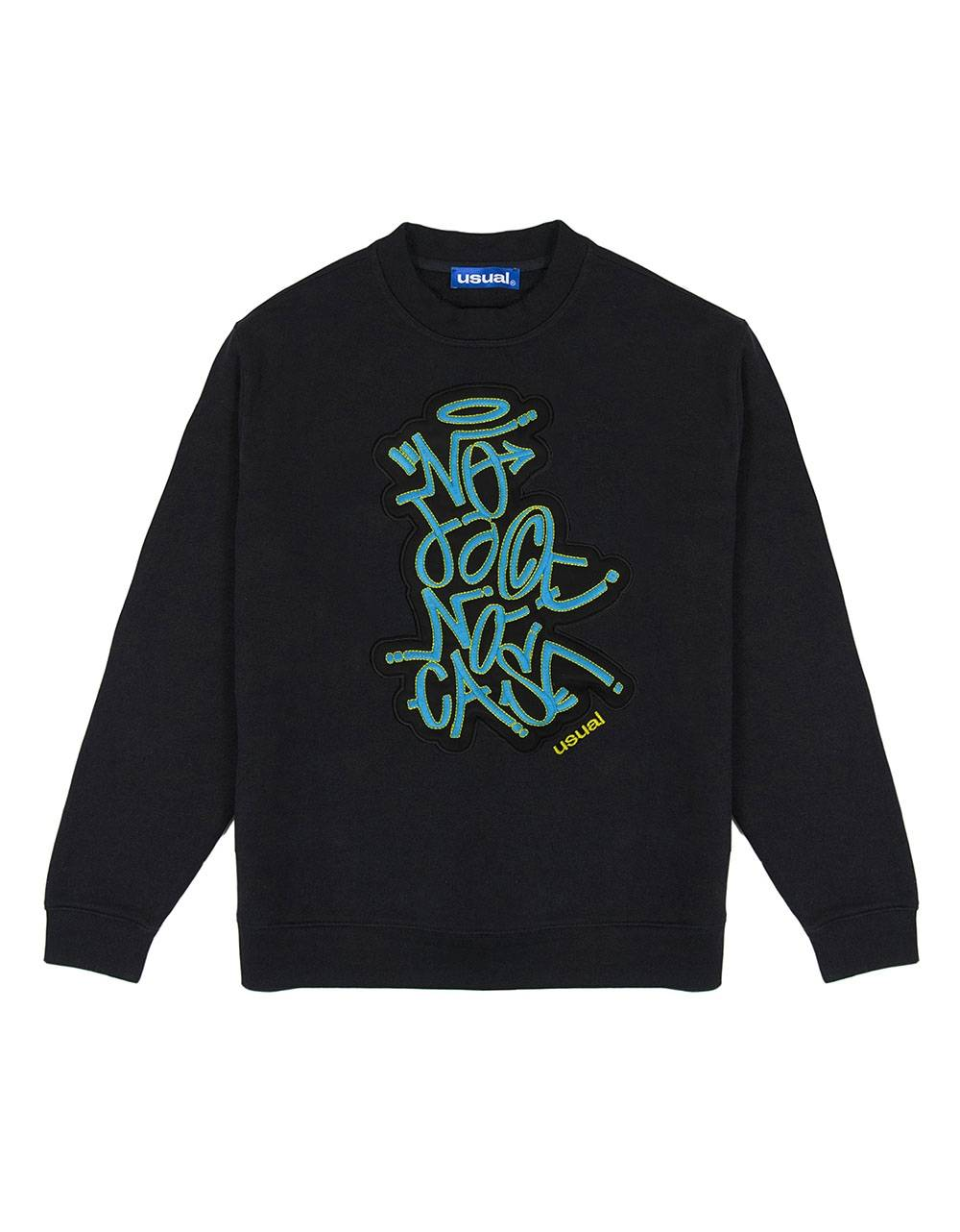 Usual No face crewneck sweater - black Usual Sweater 94,26 €