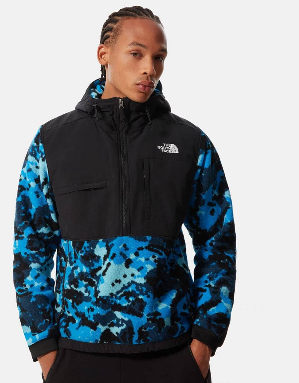 The North Face denali 2 anorak sherpa jacket - clear lake blue digicamo THE NORTH FACE Jacket 160,00€