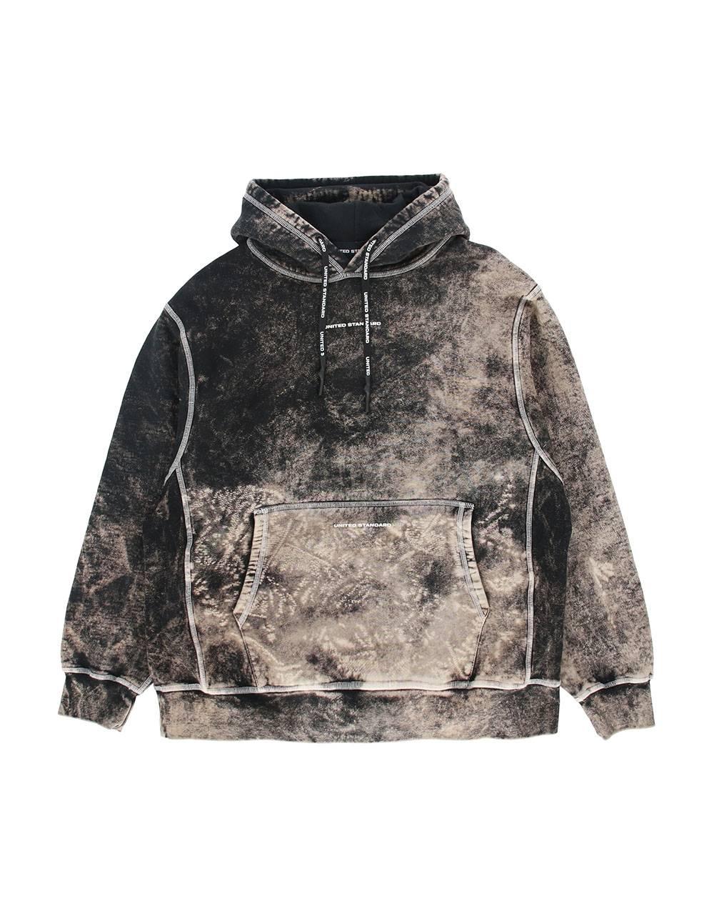 United Standard Glitch Logo hoodie - Black United Standard Sweater 245,00€