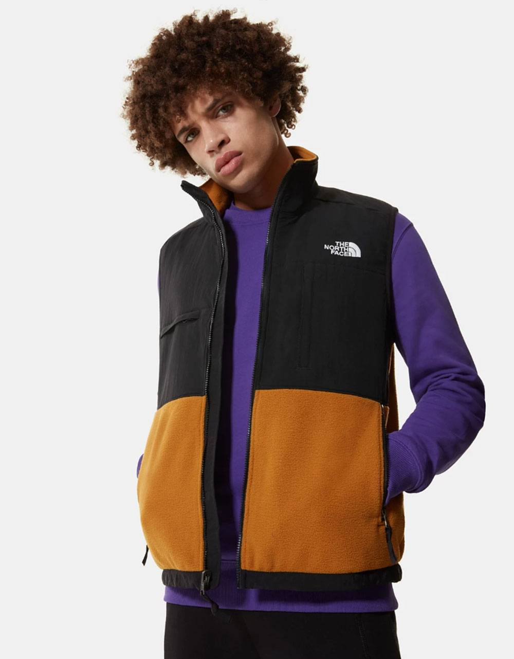 The North Face denali vest jacket - timber tan THE NORTH FACE Jacket 122,95 €