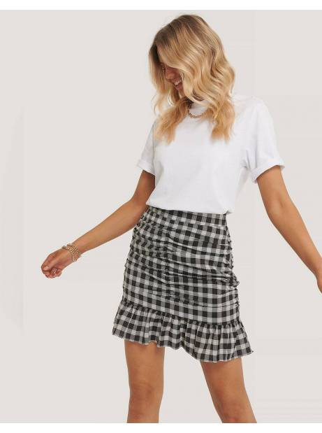 NA-KD mini frill skirt - checkere NA-KD Skirt 49,00 €