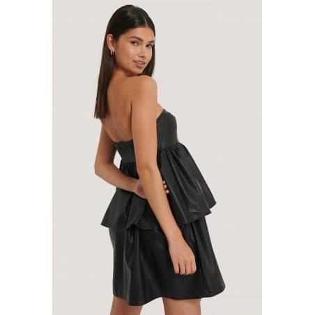 NA-KD off shoulder mini dress - black NA-KD Dress 61,48€