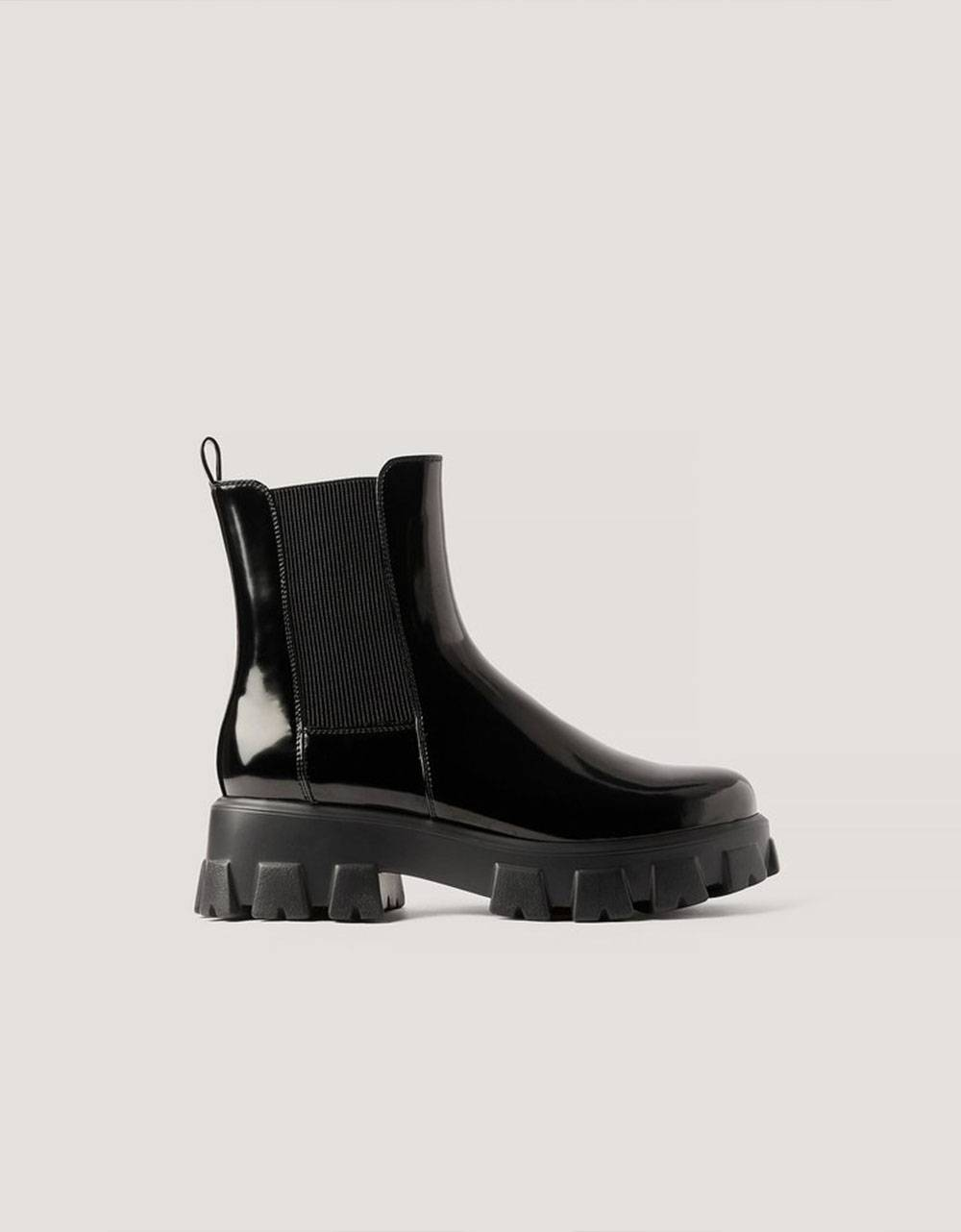 NA-KD chunky sole boots - black NA-KD Other shoes 95,00€