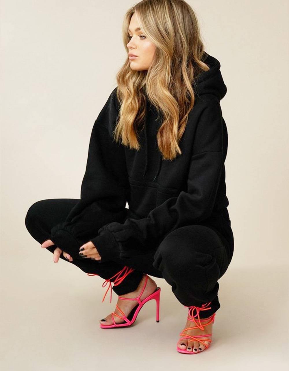 NA-KD oversized hoodie - black NA-KD Sweater 53,28€