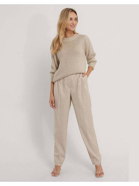 NA-KD pleat detail suit pants - check print NA-KD Pants 65,00€