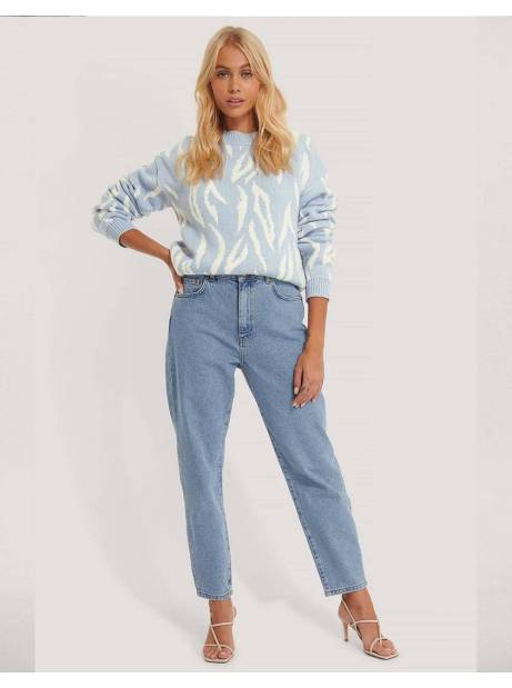 NA-KD loose fit mom jeans - light blue NA-KD Jeans 57,38 €