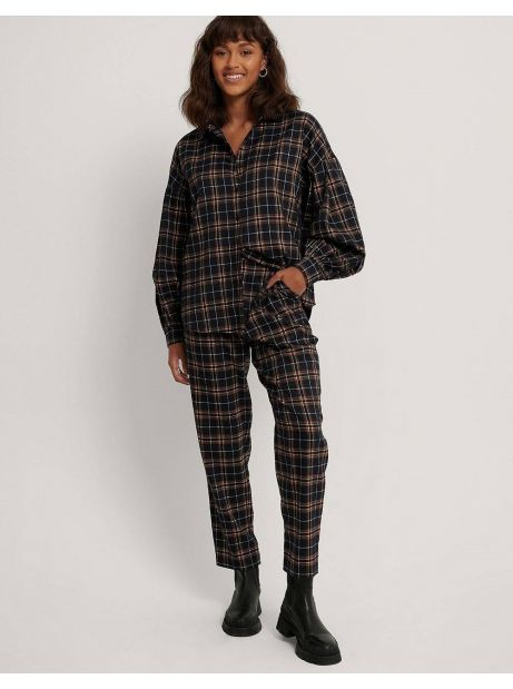 NA-KD checkered suit pants - blue check NA-KD Pants 48,36 €