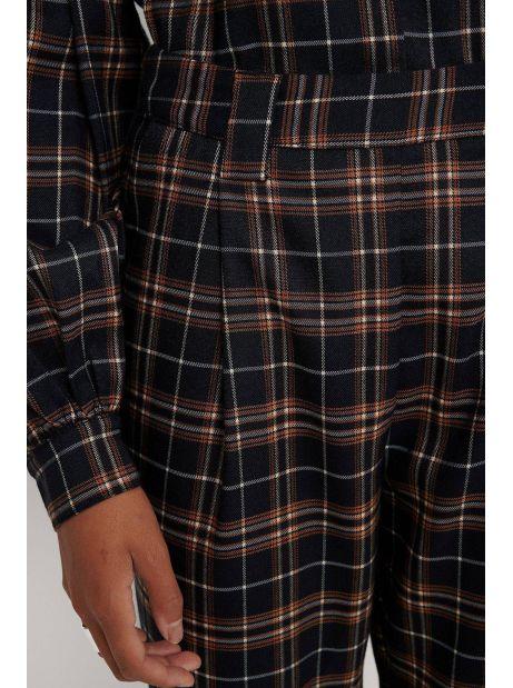 NA-KD checkered suit pants - blue check NA-KD Pants 59,00€