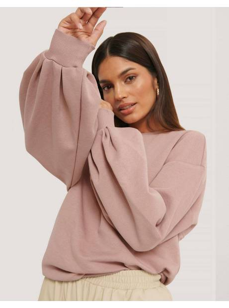 NA-KD cut out oversized sweatshirt - pink NA-KD Sweater 42,62 €