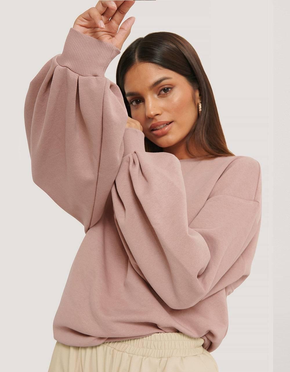 NA-KD cut out oversized sweatshirt - pink NA-KD Sweater 52,00€