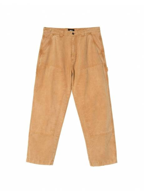 Stussy washed canvas workpants - gold Stussy Pant 165,00 €