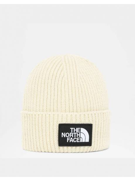 The North Face box logo cuff beanie - bleached sand THE NORTH FACE Beanie 28,69 €