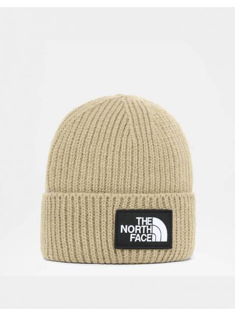 The North Face box logo cuff beanie - hawthorne khaki THE NORTH FACE Beanie 28,69 €