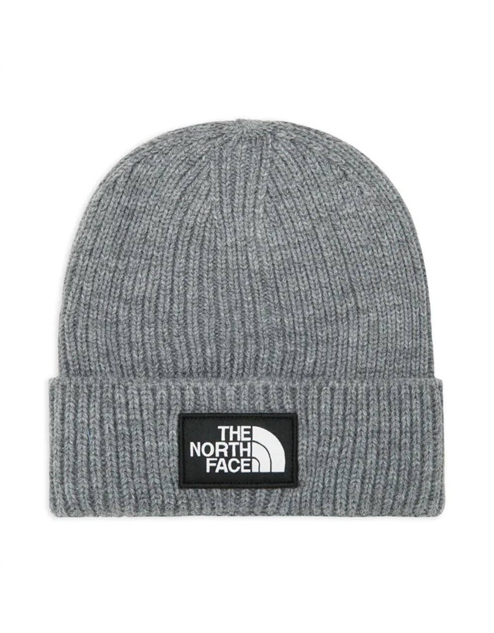 The North Face box logo cuff regular beanie - tnf medium grey THE NORTH FACE Beanie 35,00 €